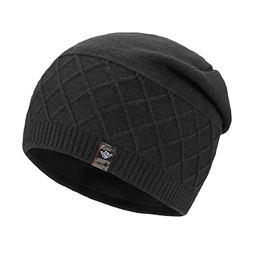 c674607ae9bd4 Wear it with your favorite outfit. Please do not Machine Wash or Brush  Wash. Stylish unisex beanie hat - large enough to wear over ears and your  cheek  ...