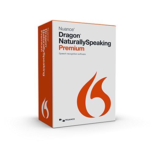 Nuance Dragon NaturallySpeaking Premium 13.0, English