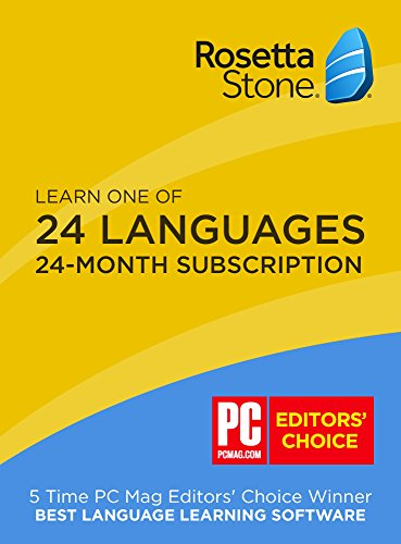 mobile & online access – Rosetta Stone: Learn a language for 24 months on iOS, Android, PC, and Mac