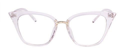 12f5164aedd You can wear them for costume or fashion purposes. 100% brand new and high  Quality Classic Cat Eye Glasses. This frame comes with clear lens ...