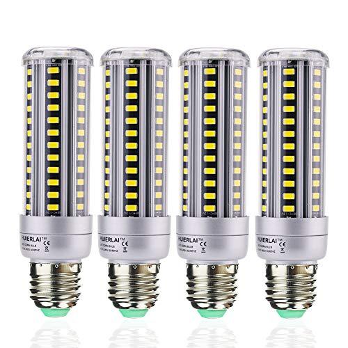 HUIERLAI 4-Pack 15W Super Bright LED Corn Light Bulb For
