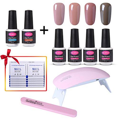 CLAVUZ Gel Polish UV LED Soak Off Nail Varnish Lacquer Manicure