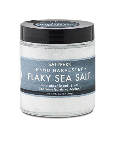 Icelandic Flaky Sea Salt, white, 3.17 OZ