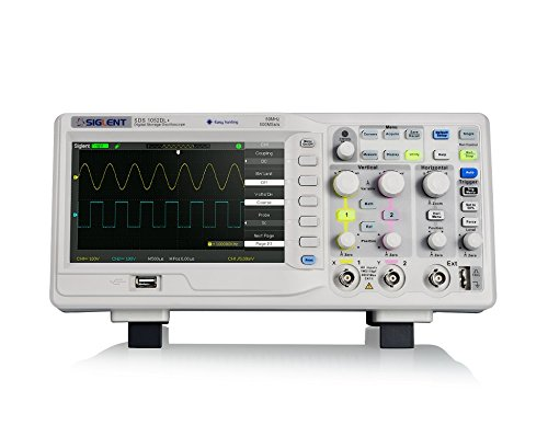 Siglent Technologies SDS1052DL+ 50 MHz Digital Storage Oscilloscope