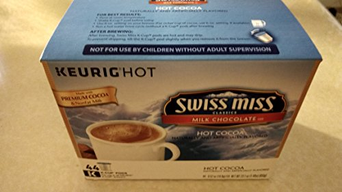 Keurig Swiss Miss Milk Chocolate Hot Cocoa 44-ct. K-Cup Pods Value Pack Packaging May Vary