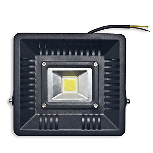 ECOL 50W 5000 Lumens COB LED Flood Light, 150W HID Bulb Equivalent, 5000K -Daylight