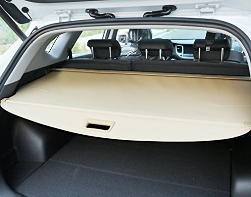 【Upgrade Version】E-cowlboy Rear Trunk Cargo Cover Security Shield for 2014-2018 Nissan X-trail Rogue SV S SL