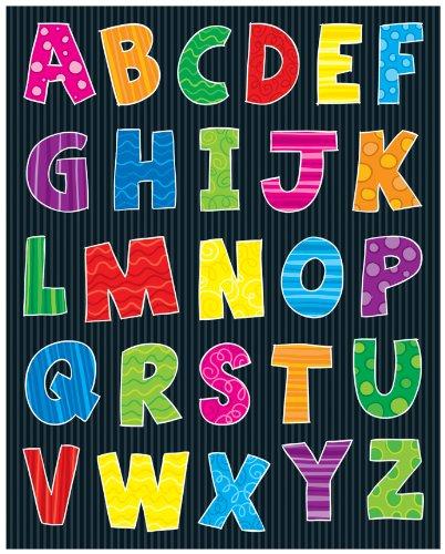 Carson Dellosa Alphabet Shape Stickers 168033
