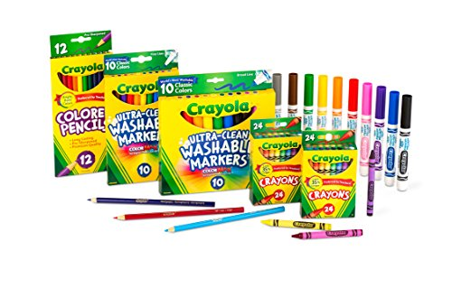 Grades K-2 Amazon Exclusive – Crayola Core Pack for Back to School