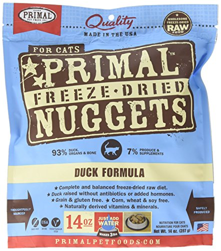 14 Oz. – Primal Freeze Dried Feline Duck Formula