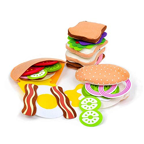 Top 9 Felt Food Set – Toy Foods