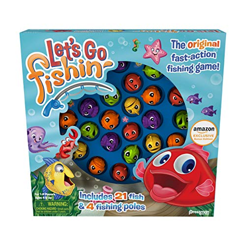 Top 10 Let's Go Fishing Game – Board Games