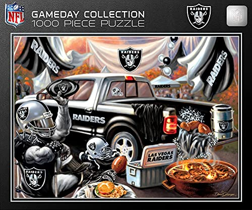 Top 10 Oakland Raiders Puzzles for Adults – Sports Fan Toys & Game Room