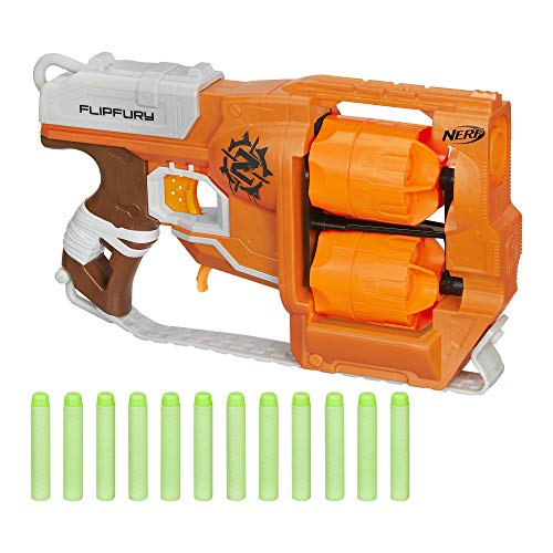 Top 10 Nerf Zombie Strike FlipFury Blaster – Toy Foam Blasters & Guns