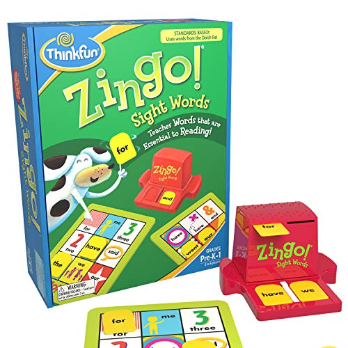 Top 10 Zingo Sight Words – Magnetic Letters & Numbers