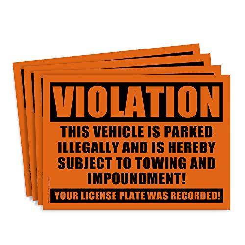 Top 9 Parking Violation Stickers – Kids' Stickers