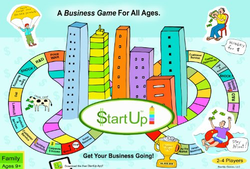 Top 8 STARTUPS Board Game – Games & Accessories