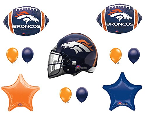 Top 6 Broncos Party Supplies – Kids' Party Tableware