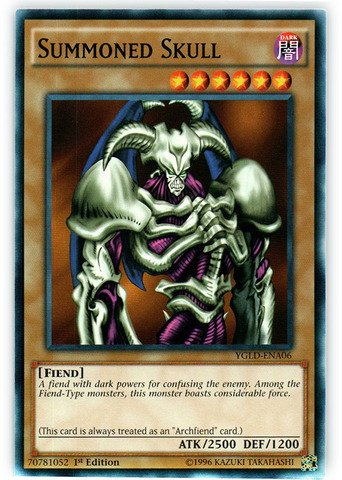 Top 6 Summoned Skull Yugioh – Collectible Card Game Singles