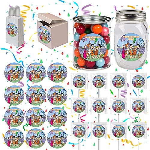 Top 9 Flintstones Party Decorations – Kids' Stickers