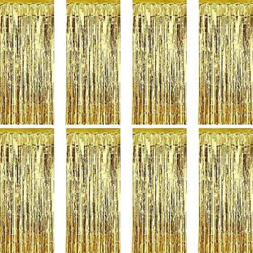 Top 9 Metallic Fringe Curtain – Party Banners & Garlands