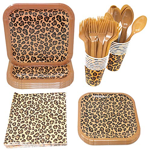 Top 7 Cheetah Print Party Supplies – Kids' Party Supply Packs