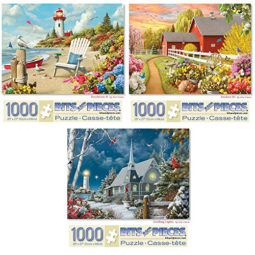 Top 10 Bits and Pieces 1000 Piece Puzzles – Jigsaw Puzzles