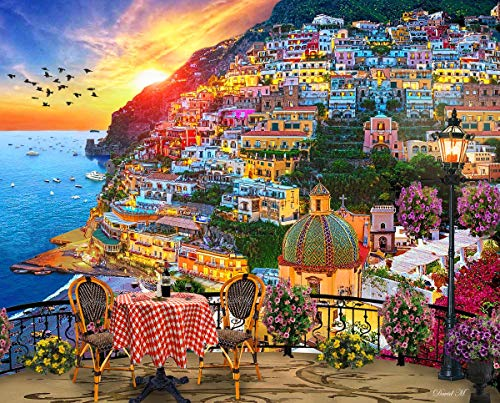 Top 10 Positano Italy Puzzle – Jigsaw Puzzles