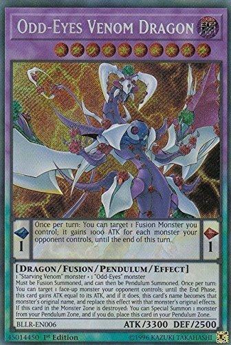 Top 4 Odd-Eyes Venom Dragon – Non Sports Trading Card Singles