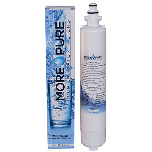 MORE Pure MPF15350 Replacement Refrigerator Water Filter Compatible with GE RPWF Not RPWFE