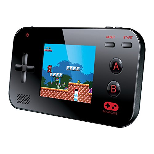 "220 Built-in Retro Style Games and 2.4"" LCD Screen – Black – My Arcade Gamer V Portable Gaming System"