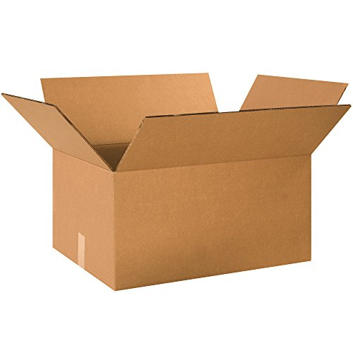 BOX USA BHD241812DW Double Wall Boxes, 24″L x 18″W x 12″H, Kraft Pack of 10