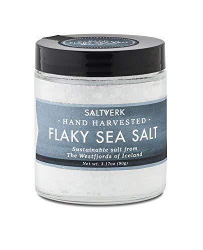 Icelandic Flaky Sea Salt, white, 3.17 OZ
