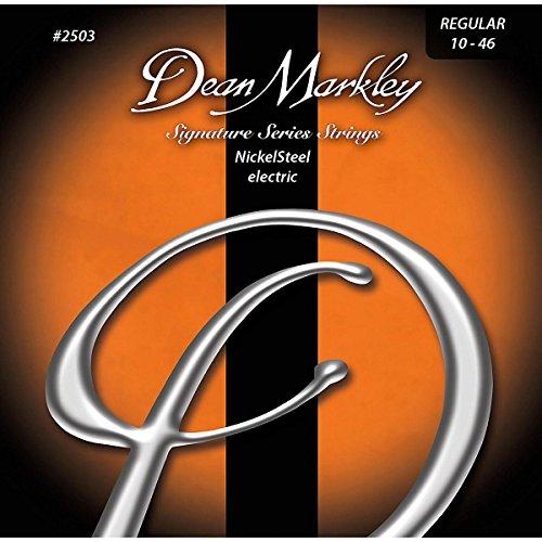 Dean Markley NickelSteel Electric Guitar Strings, 10-46, 2503, Regular