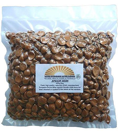 Natural Apricot Kernels Raw Seeds 430g Bag 1lb