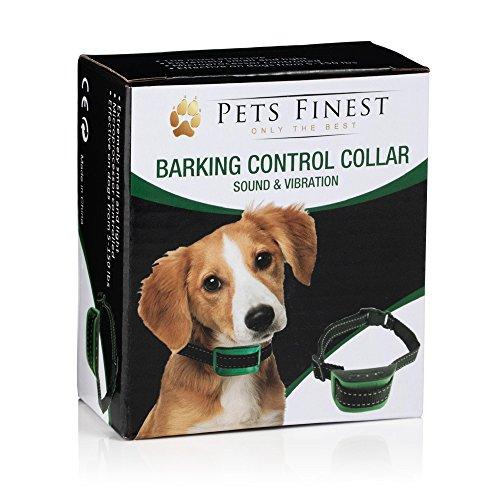 Sound & Vibration Anti Bark Dog Collar – Anti Bark Dog Collar by Pets Finest