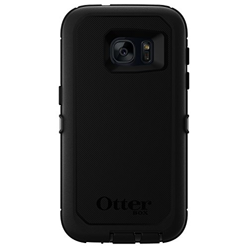 Retail Packaging – OtterBox DEFENDER SERIES Case for Samsung Galaxy S7 – BLACK