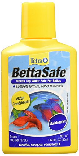 Tetra BettaSafe Water Conditioner, 1.69-Ounce, 50-Ml Packaging may vary