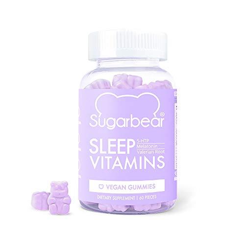 SugarBear Sleep, Vegan Gummy Vitamins 1 Month Supply