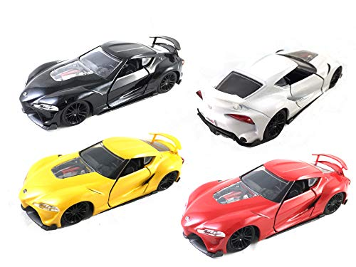 Top 5 Toyota Supra Toy Car – Pull Back Vehicles