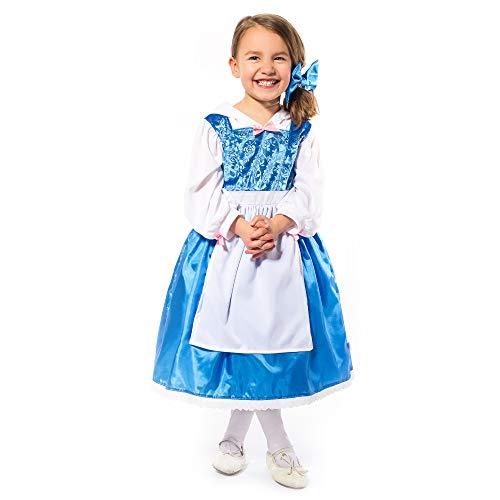 Top 8 Belle Costume Blue Dress – Girls' Costumes