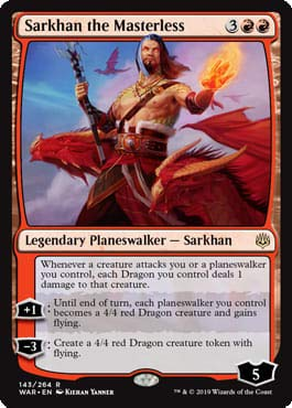 Top 6 Sarkhan The Masterless – Collectible Card Game Singles