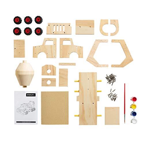 Top 6 Stanley Jr Wood Building Kit – Kids' Wood Craft Kits
