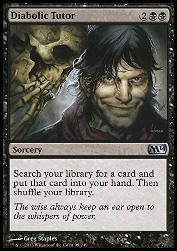 Top 9 Diabolic Tutor Mtg Foil – Card Games