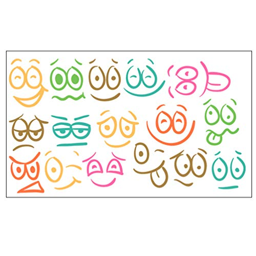 Top 9 Facial Expression Stickers – Kids' Stickers