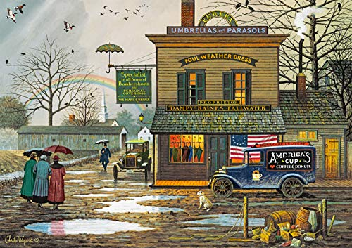 Top 10 Charles Wysocki 300 Piece Puzzles for Adults Large Piece – Jigsaw Puzzles