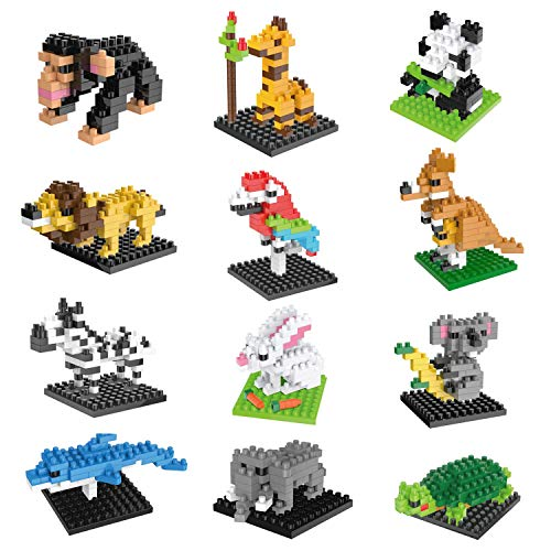 Top 10 Zoo Party Favors – Toy Building Sets