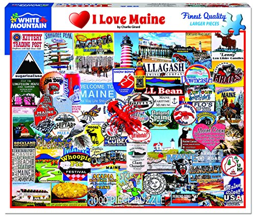 Top 10 Maine Jigsaw Puzzle – Jigsaw Puzzles
