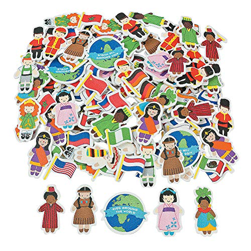 Top 9 Around The World Stickers – Toys & Games