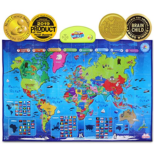 Top 10 Maps for Kids Learning – Electronic Learning & Education Toys
